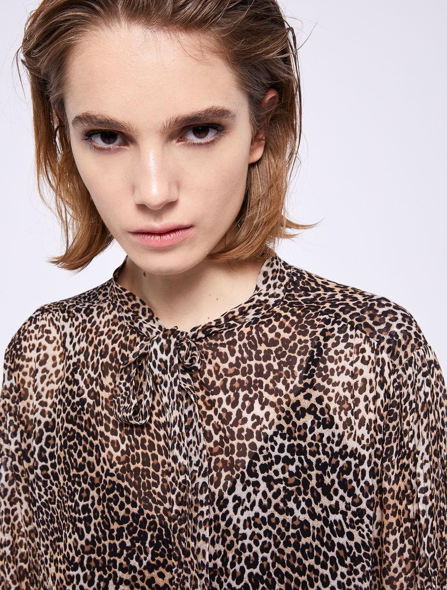Animal print blouse Marella