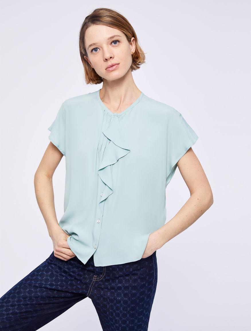 Shirt with flounce Marella