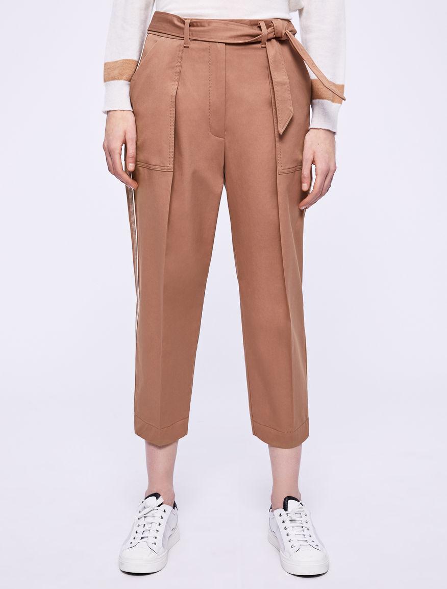 Pantalón de corte zanahoria Marella