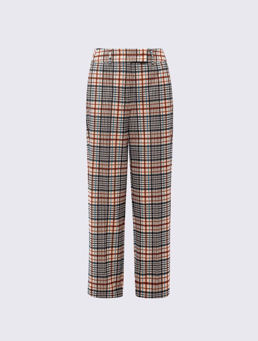 Pantaloni check Marella