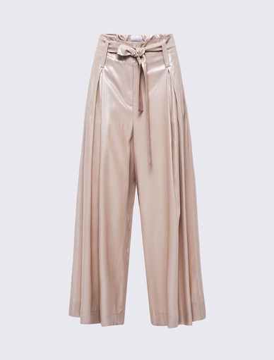 Laminated trousers Marella