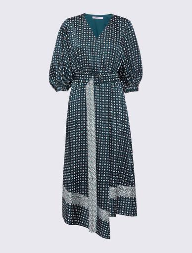 Vestido estampado Marella