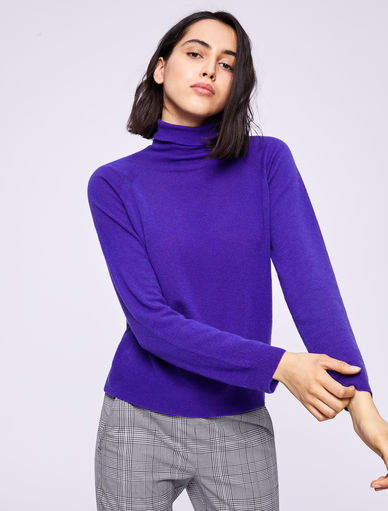 Cashmere polo neck jumper Marella