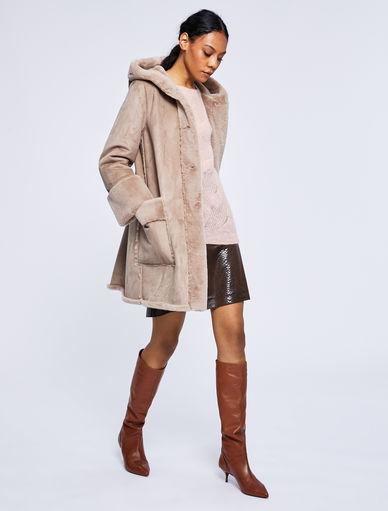 Cappotto con cappuccio Marella