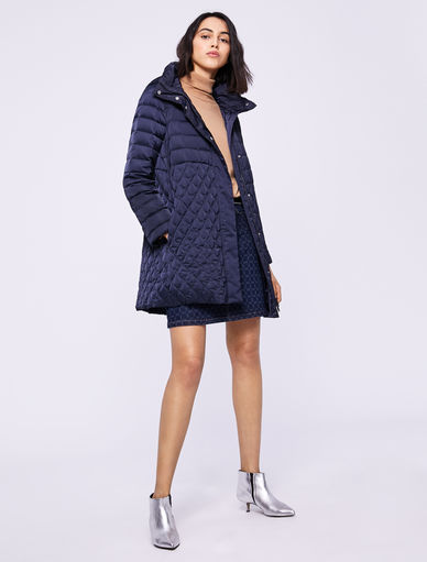 Quilted down coat Marella