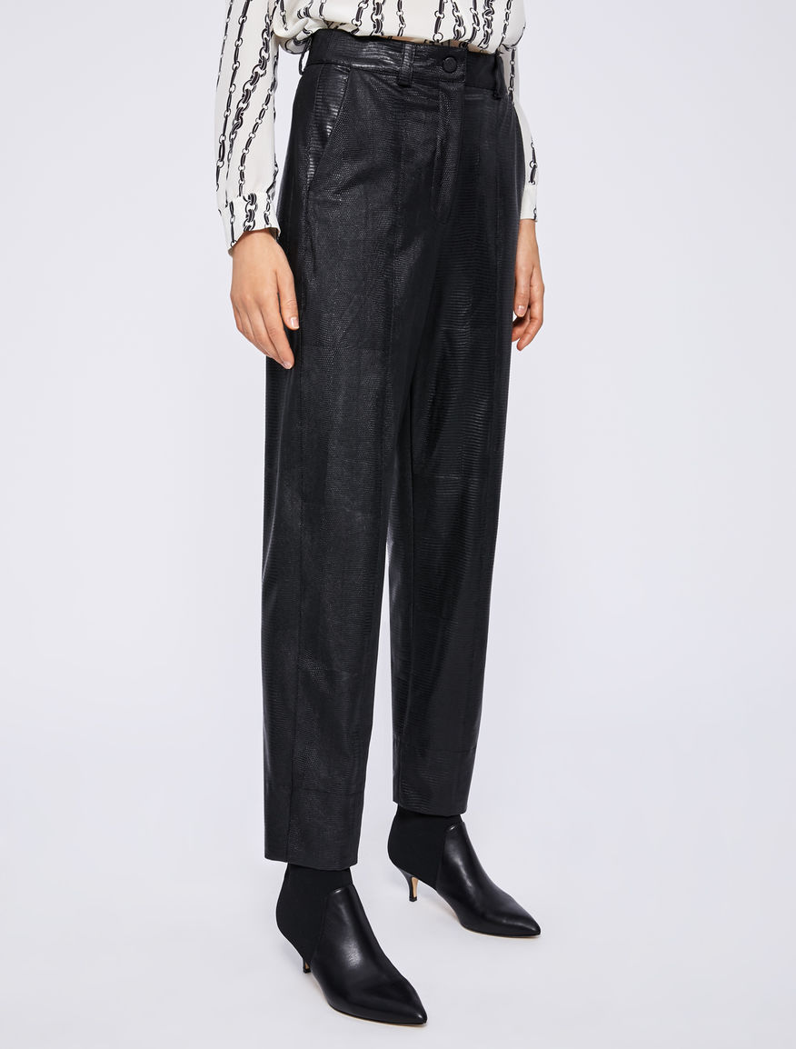 Faux leather trousers Marella
