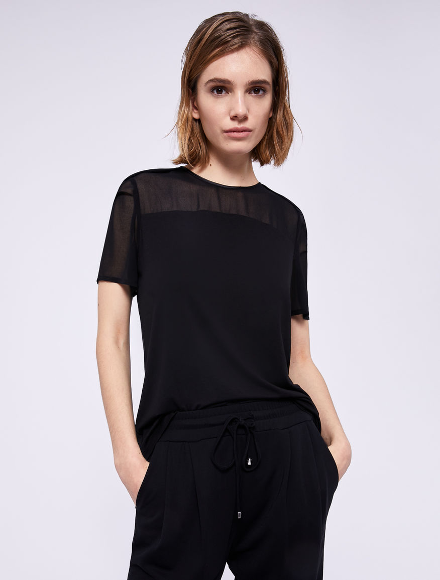 Two-material T-shirt Marella
