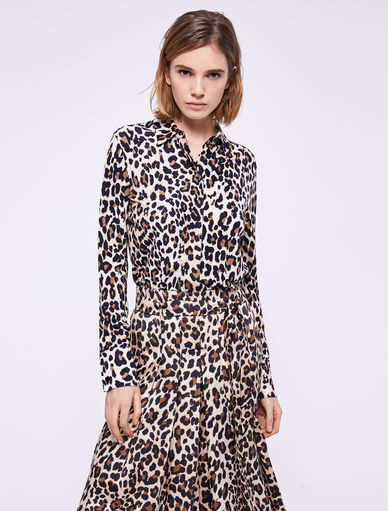 Animal print shirt Marella