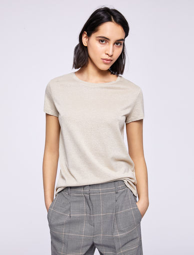 T-shirt en lurex Marella