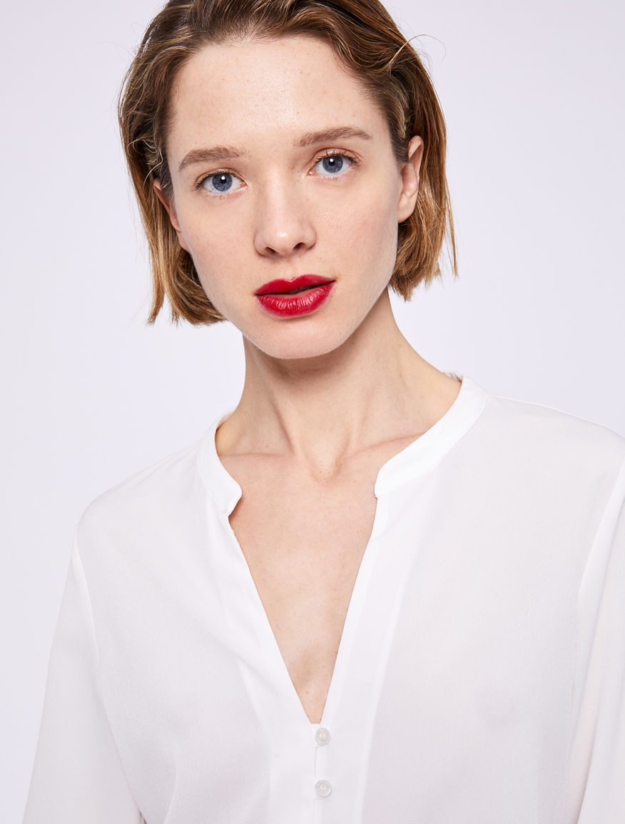 Camisa con nudo Marella
