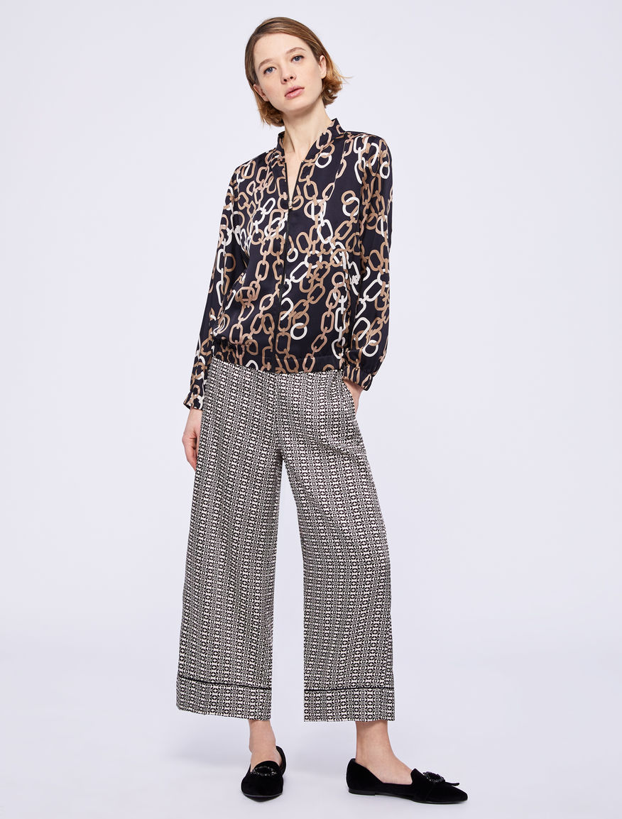 Patterned bomber jacket Marella