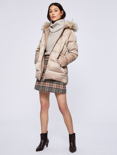 Hooded puffer jacket Marella