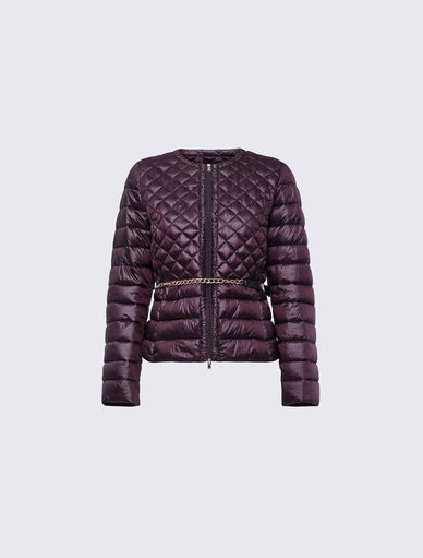 Padded jacket with belt Marella