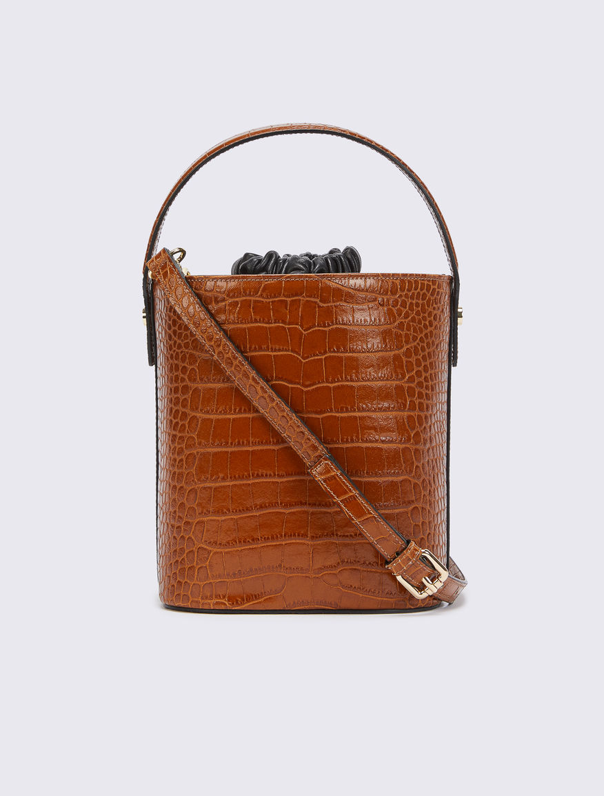 Leather bucket bag Marella