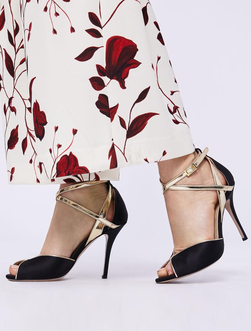 Satin sandals Marella