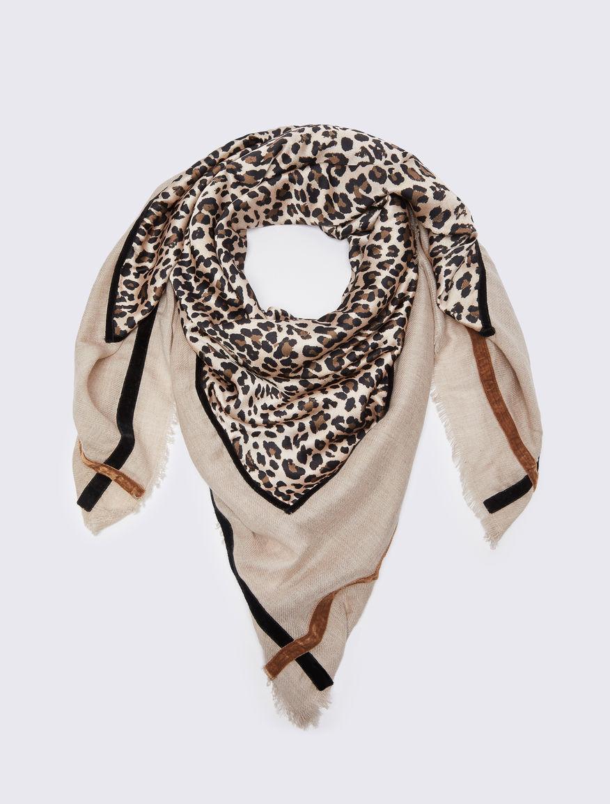 Animal print foulard Marella