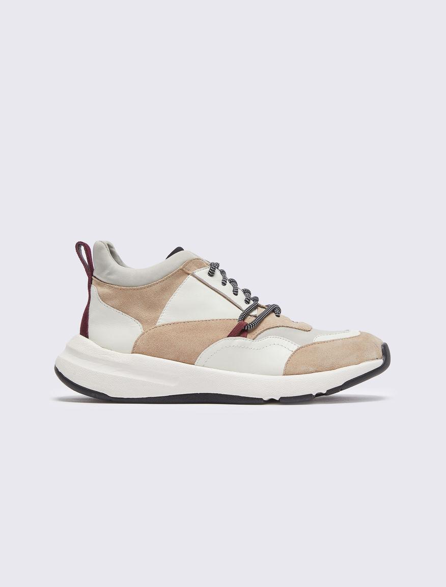 Leather trainers Marella