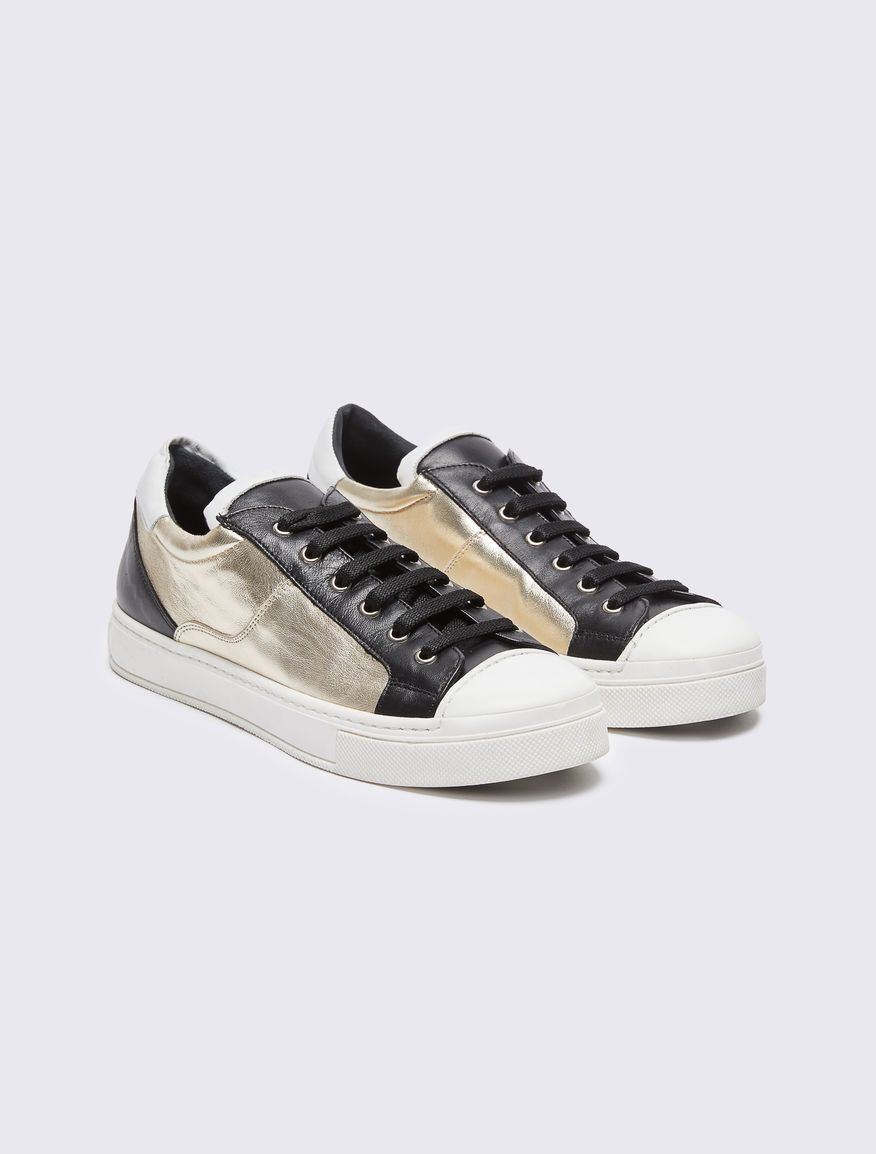 Laminated trainers Marella