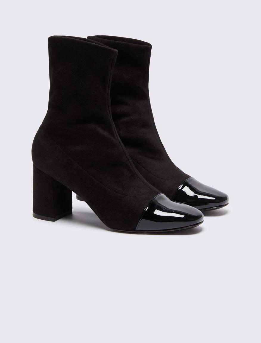 Stretch half boots Marella