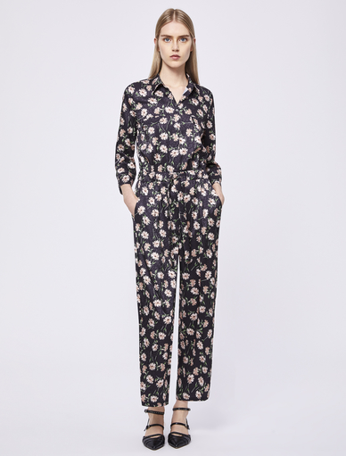 Floral-print jumpsuit Marella