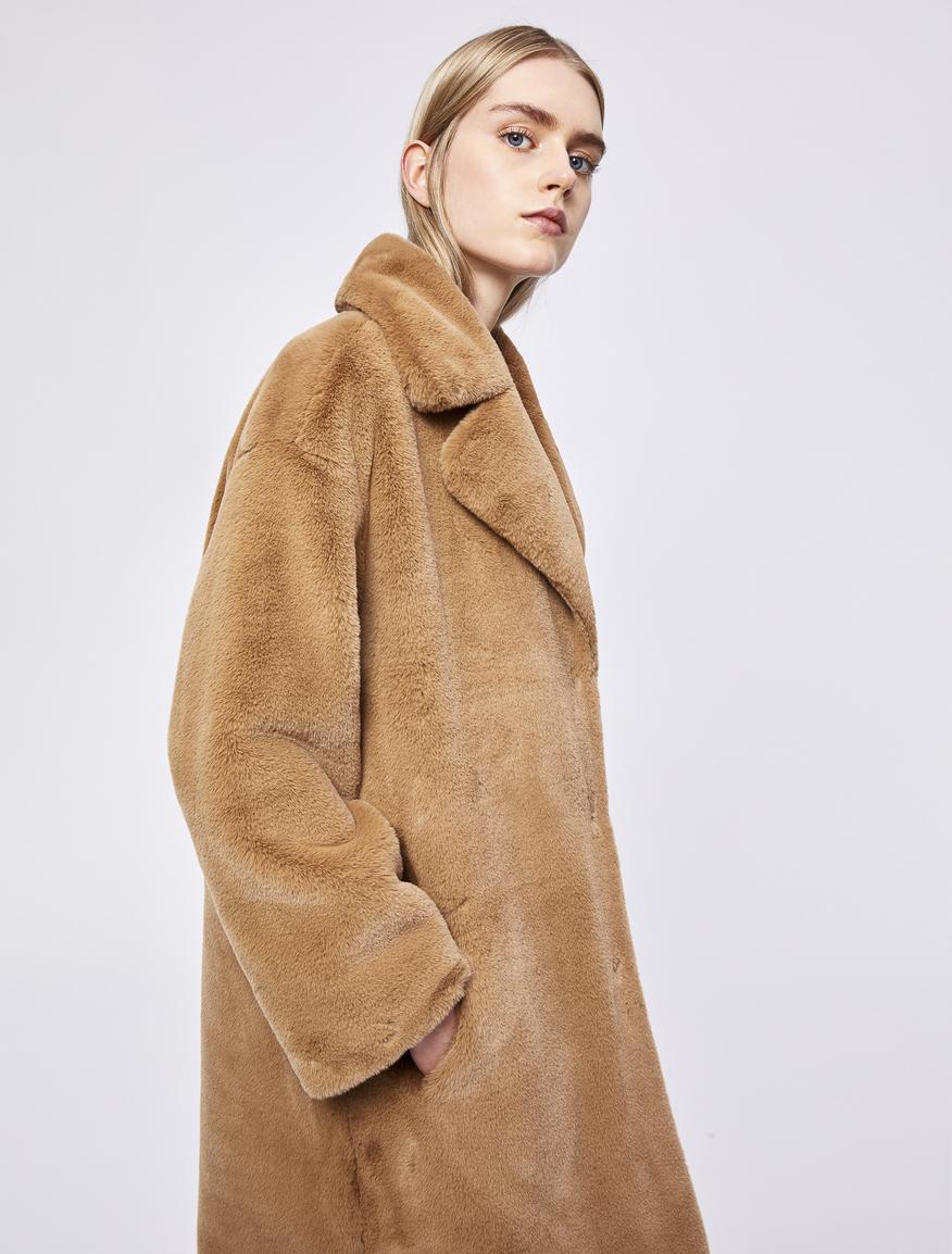 Cappotto fluffy Marella
