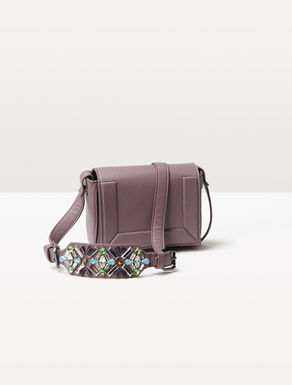 Mini-bag with jewel shoulder strap