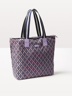 Printed nylon shopper