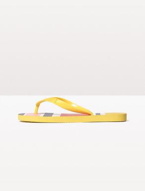 Infradito flip flop di gomma stampata