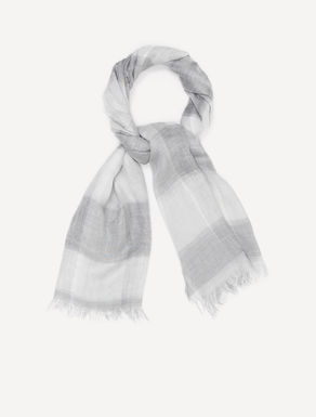 Maxi-foulard di micromodal check