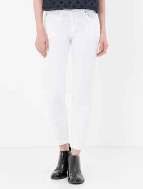 Pantaloni skinny di cotone stretch