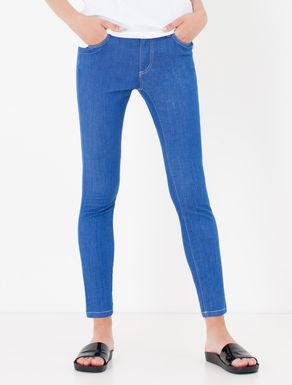 Jeans skinny fit blu brillante