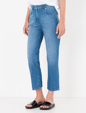 Jeans leggero cropped straight fit