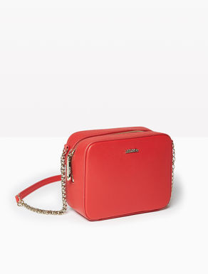 Mini shoulder bag with chain
