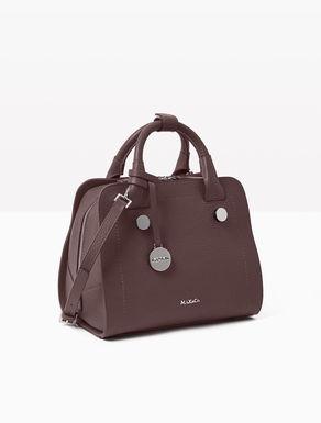 Leather Boston bag