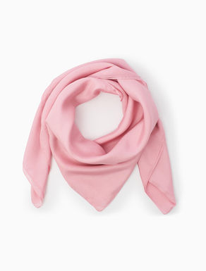 Habutai silk scarf