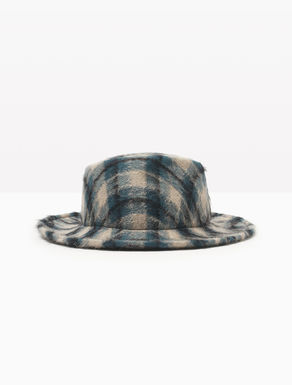 Wool and mohair fedora