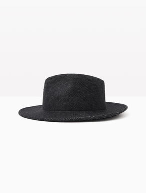 Wool and alpaca fedora