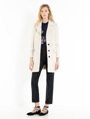 Double-cloth coat