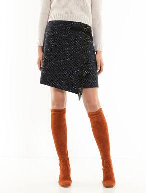 バスケット Aラインスカート