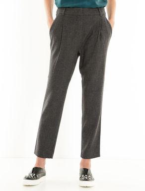 Pantaloni morbidi di flanella