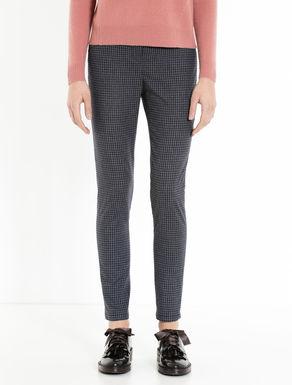 Pantaloni skinny di flanella check