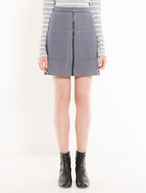 Soft double jersey skirt