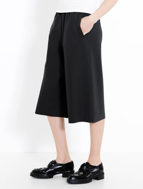 Soft double jersey culottes