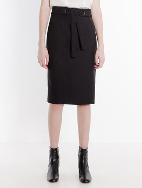 Sablé sheath skirt