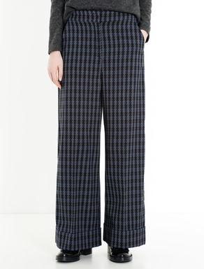 Pantaloni wide fit a fantasia check