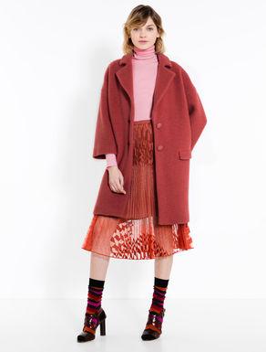 Ultra-soft jersey knit coat