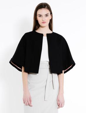Boxy double cotton jacket
