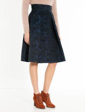 Jacquard chenille skirt