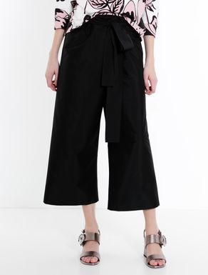 Taffeta sarong trousers