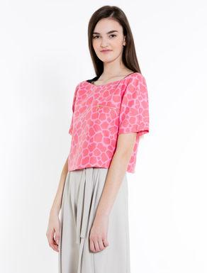 Jacquard duchesse T-shirt